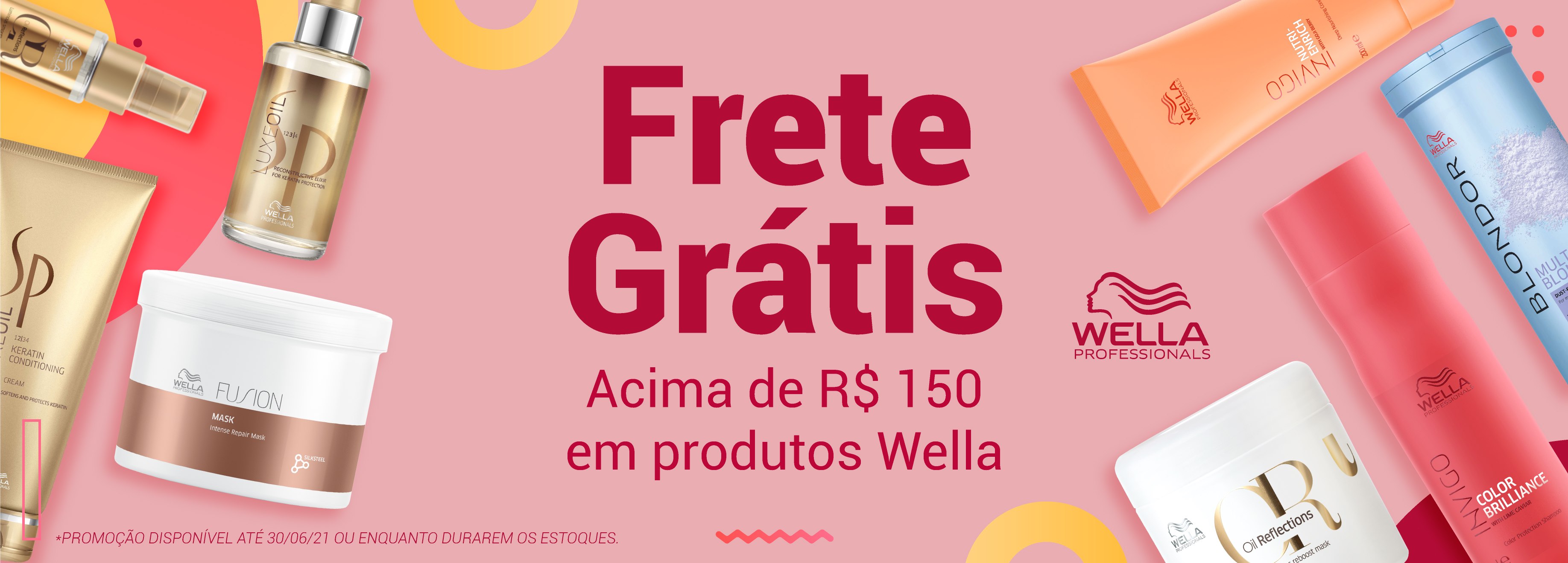 Banner Wella Frete
